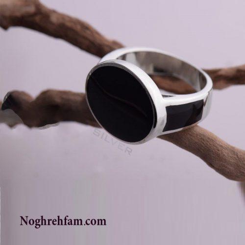انگشتر نقره مردانه اسپرت